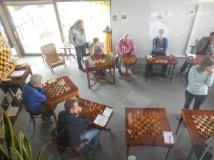 Anne Haast bij Old in Chess